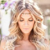 Wavy bridal hairstyles