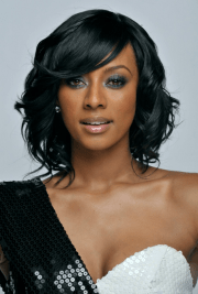wavy hairstyles black women