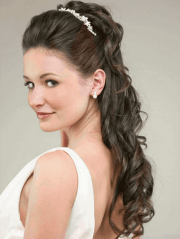 wedding day hairstyles long