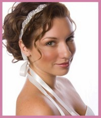 Wedding hair bands