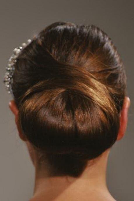 Wedding hair buns
