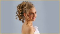 Wedding hair design