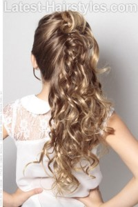 Best Image of Little Girl Wedding Hairstyles