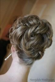 wedding hair updos medium length