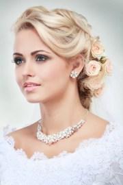 wedding hair with bangs