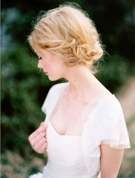 Wedding hairdos for short hair
