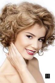medium length haircuts curly hair