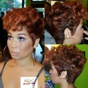 short naturally curly hairstyles