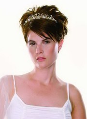 short bridal hairstyles