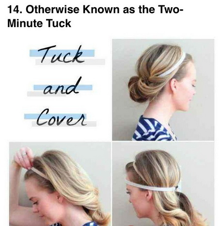 30 Fast Under 1 Minute Hairstyles Hairstyles Ideas Walk The Falls