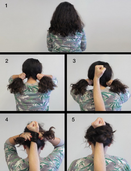 1 minute hairstyles