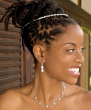 2 hairstyles short dreads