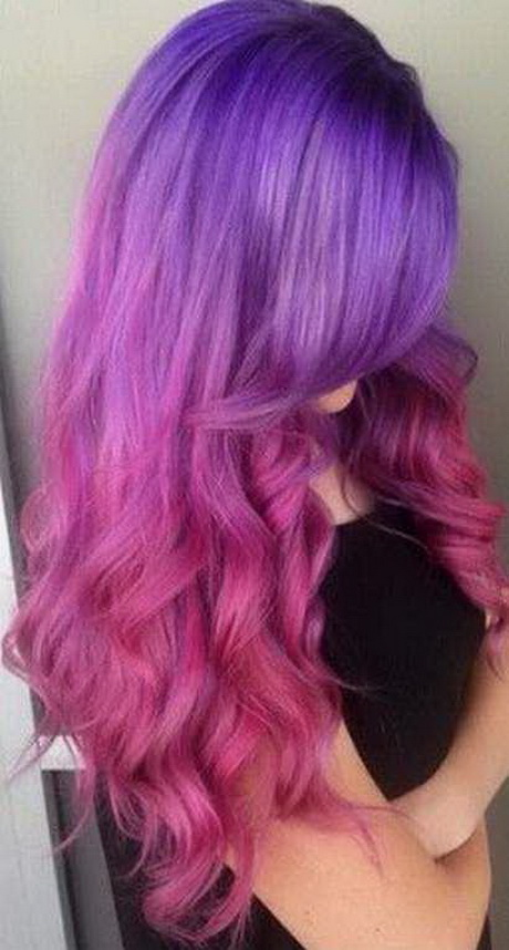Hairstyles Purple
