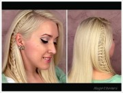 hairstyles quick and easy school