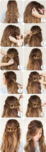 easy hairstyles school