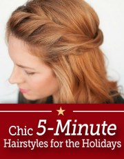 5 minute hairstyles
