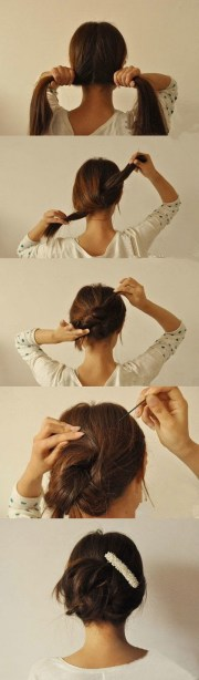 6 hairstyles lazy