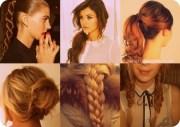 7 easy hairstyles school