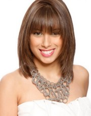 above shoulder hairstyles