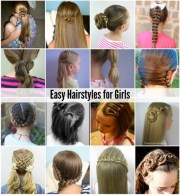 hairstyles easy girls