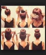 hairstyles running late school