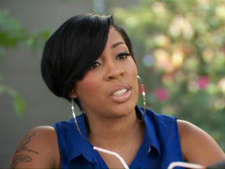 K Michelle Short Hairstyles