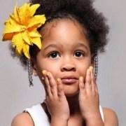 little girl models ages 11 hairdo
