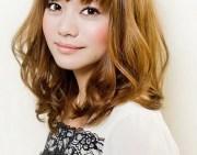 curly medium length hairstyles