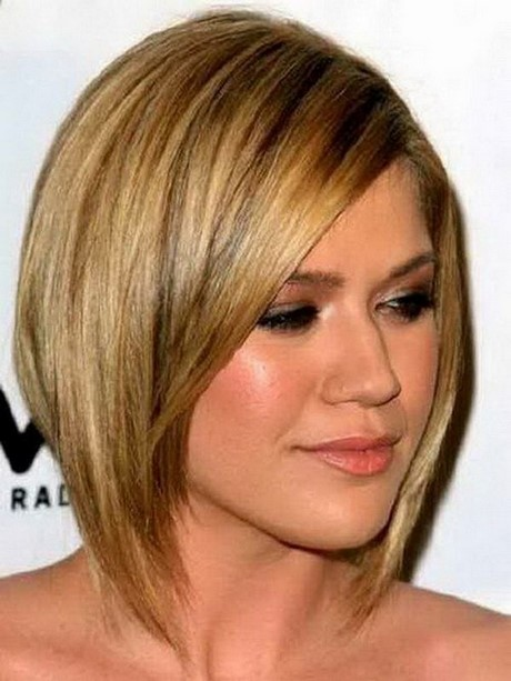 Short Hairstyles For Girls With Round Faces Page 1