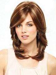 medium length layered haircuts