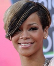 rihanna short hairstyles 2017