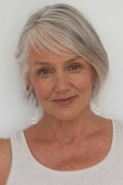 short hairstyles women over 50