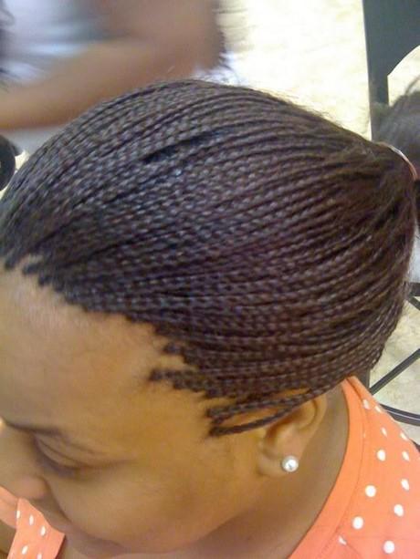 Under Braids Hairstyles