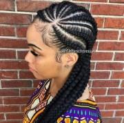 braids cornrows