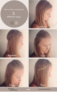 Easy ways to braid your hair