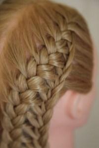 Hair braiding techniques