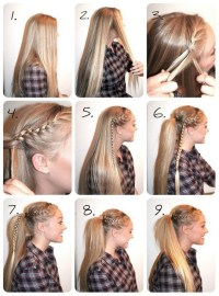Ways To Fix Your Hair In Braids | ways to get your hair ...