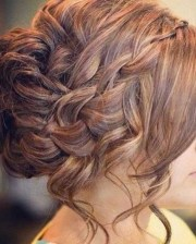 prom updos long thick hair