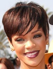 short black haircuts women