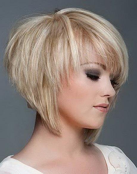 Short layered haircuts with bangs 2016