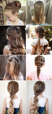 Different hairstyles for kids girls