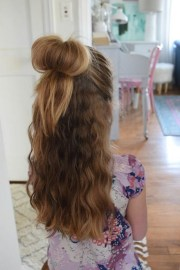 easy hairstyles kids girls