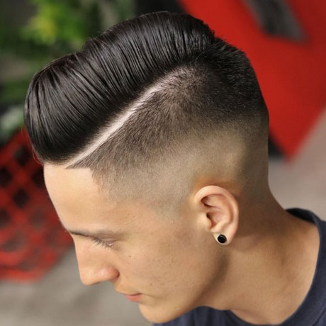 Fresh cut hairstyle