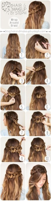 braided hairstyles thick hair