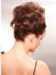 casual updos thick hair