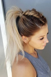 cute easy hairstyles long thick