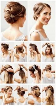 cute easy hairstyles shoulder length