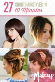 diy hairstyles short hair