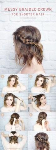 diy hairstyles short hair
