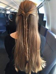 everyday hairstyles long straight